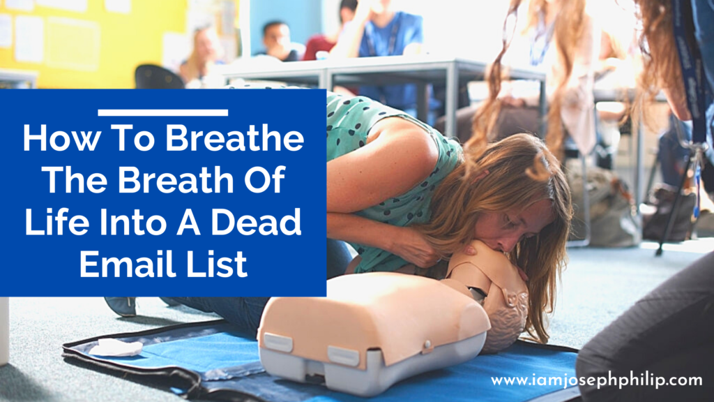 BreathLife Into A Dead Email List