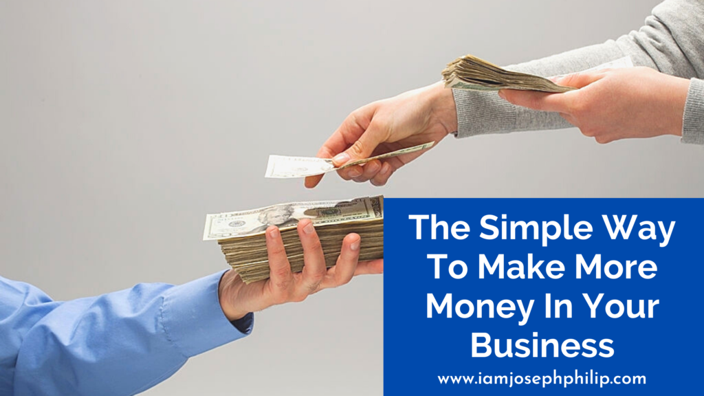 make more money in your business